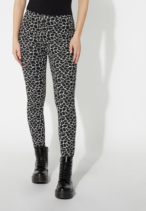 Leggings - Trousers - nero st.little giraffe