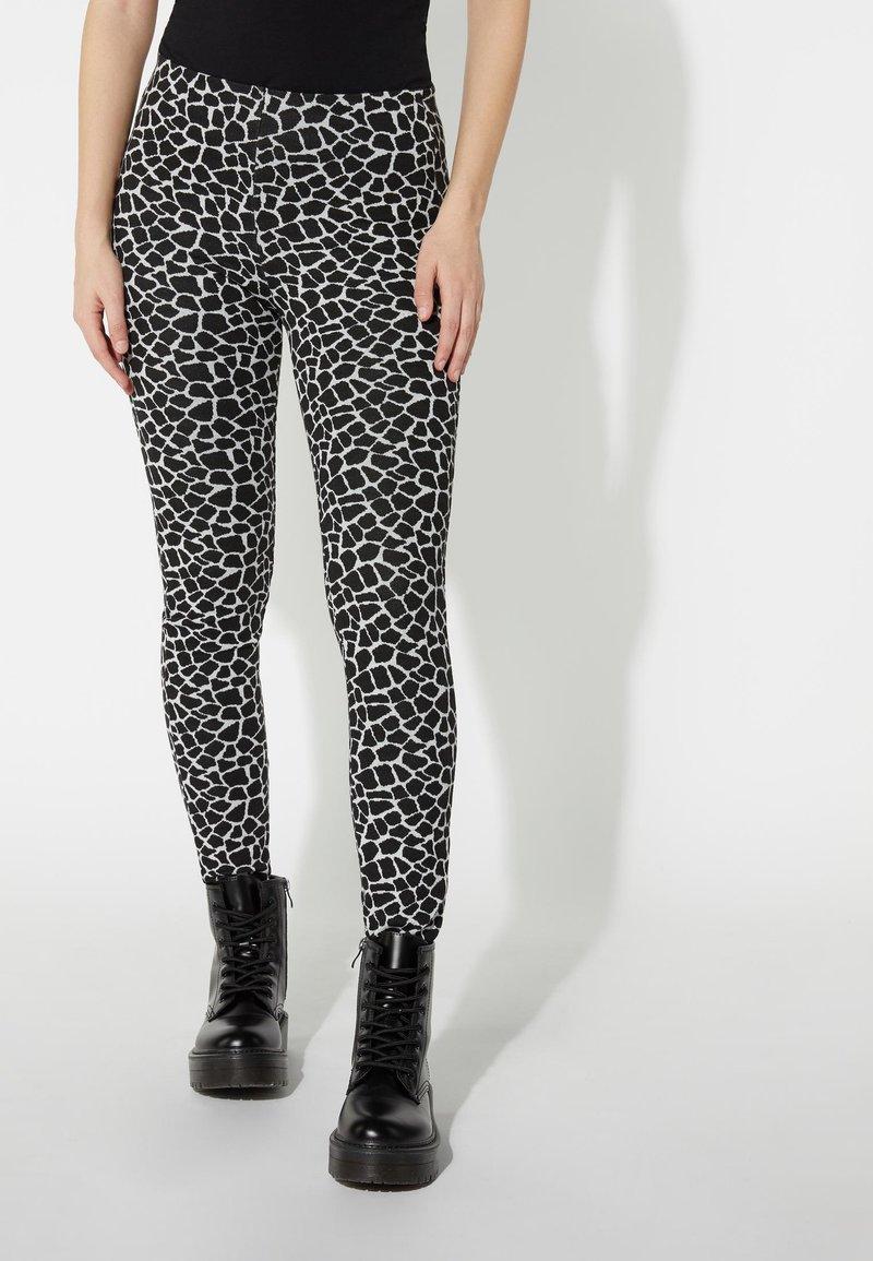 Tezenis - Leggings - Trousers - nero st.little giraffe