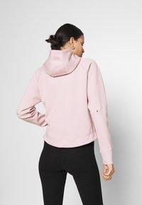 Nike Sportswear - Chaqueta de punto - champagne/black - 2