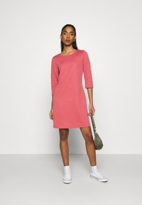 ONLY - ONLJOYCE 3/4 DRESS  - Jersey dress - baroque rose - 1