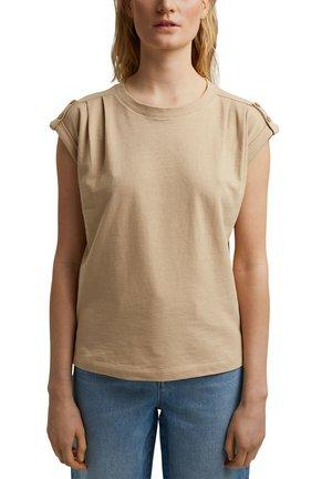 T-shirt imprimé - sand