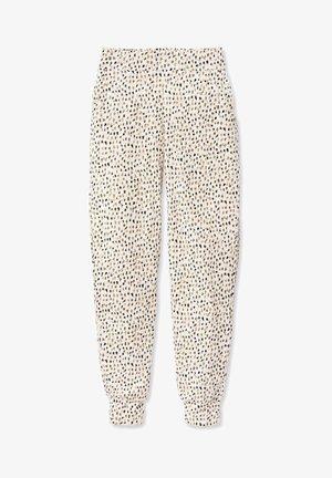 MIT BÜNDCHEN - Pyjama bottoms - star white