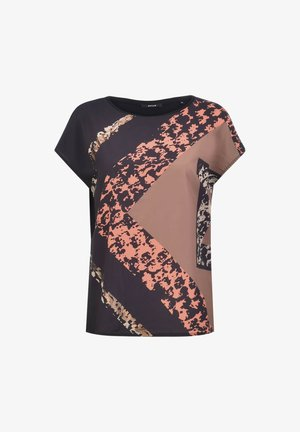 SUSA  - Print T-shirt - black