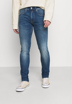 JOHNFRUS - Slim fit jeans - medium blue