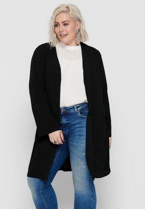 CURVY - Cardigan - black