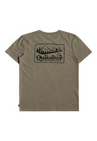 Quiksilver - OLD HABIT  - T-shirt imprimé - kalamata - 1