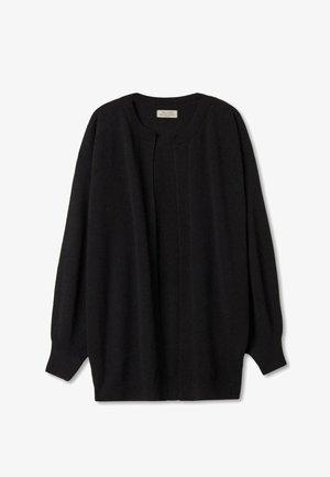 LANGER AUS ULTRASOFT - Cardigan - schwarz / black