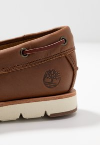 Timberland - CAMDEN FALLS - Boat shoes - mid brown - 2