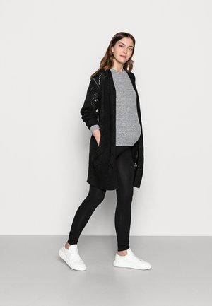 2 PACK - Leggings - grey/black