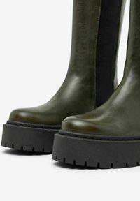 Bianco - BIADEB  - Platform boots - khaki - 1