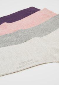 camano - SOFT SOCKS 4 PACK - Ponožky - light grey mix - 2