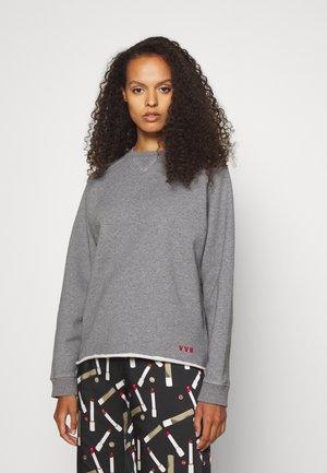 Sweater - mottled grey
