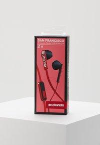 Urbanista - SAN FRANCISCO UNISEX - Headphones - red snapper - 3