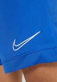 Nike Performance - DRY ACADEMY SHORT  - kurze Sporthose - game royal/white - 5