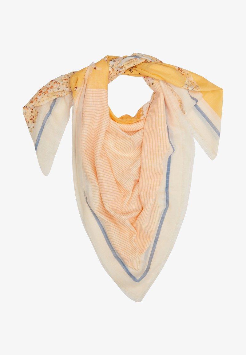 s.Oliver - Foulard - light yellow aop