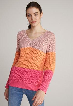 KALMA - Jumper - rosa/orange/pink