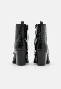 Glamorous Wide Fit - Šněrovací kotníkové boty - black - 3
