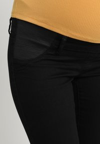 MAMALICIOUS - Jeans Slim Fit - black denim - 3