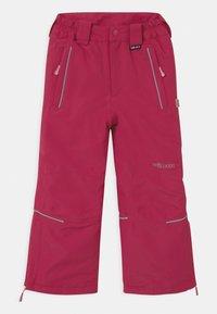 TrollKids - KIDS HOLMENKOLLEN SNOW SLIM FIT UNISEX - Snow pants - rubine-magenta - 1