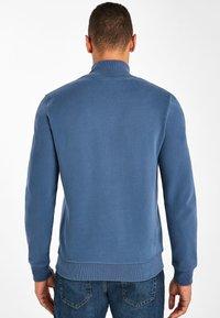 Next - Zip-up sweatshirt - dark blue - 1