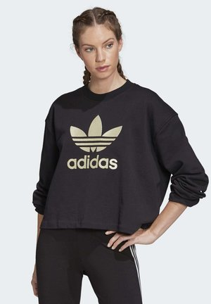 PREMIUM CREW SWEATSHIRT - Sweatshirt - black
