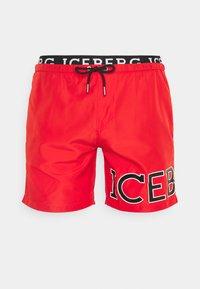 Iceberg - MEDIUM - Swimming shorts - red - 0