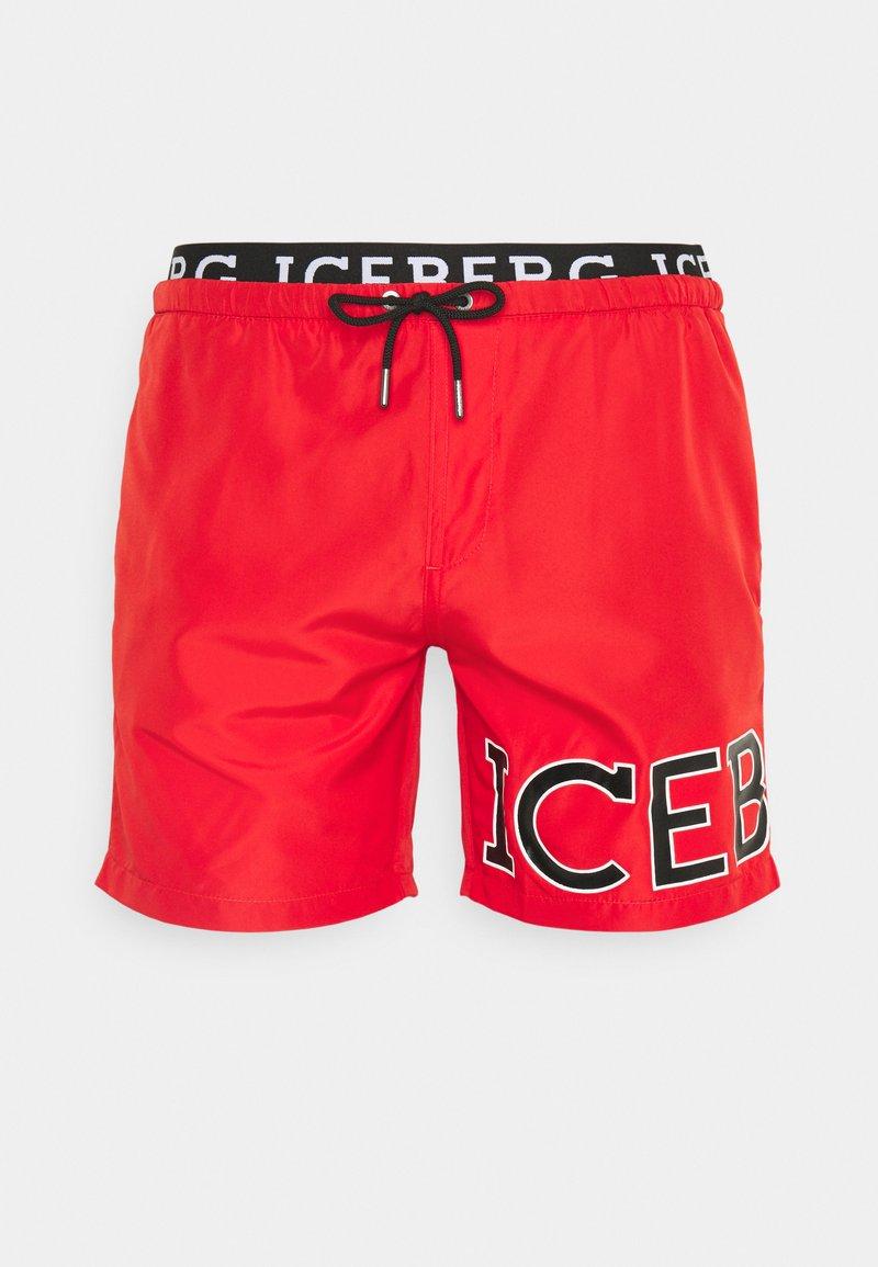 Iceberg - MEDIUM - Swimming shorts - red