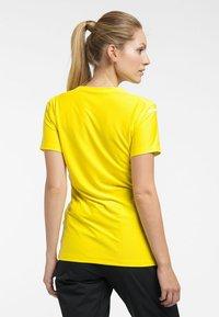 Haglöfs - L.I.M TECH TEE - Print T-shirt - signal yellow - 1