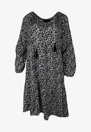 SENTA - Day dress - schwarz/weiß