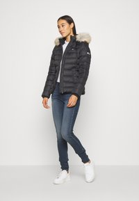 Tommy Jeans - BASIC HOODED JACKET - Down jacket - black - 1