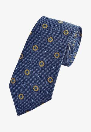 Corbata - mottled royal blue