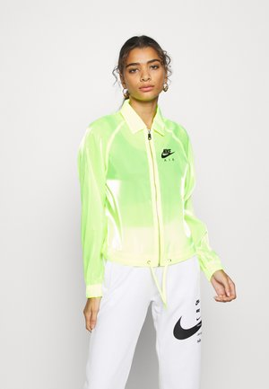 AIR SHEEN - Summer jacket - volt/black