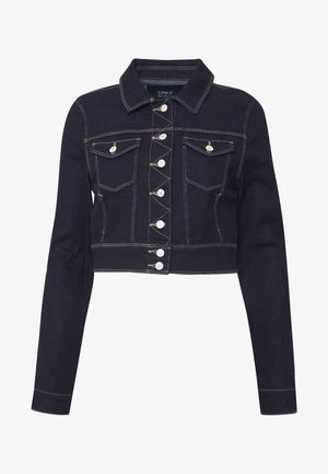 ONLNEW WESTA CROPPED JACKET - Denim jacket - dark blue denim