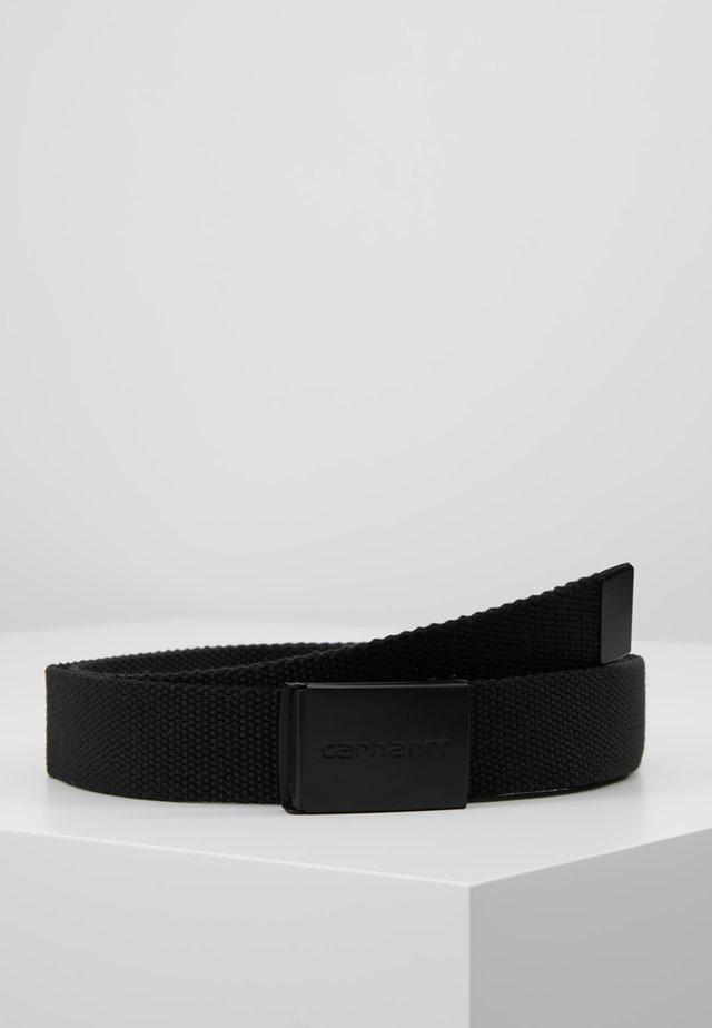 CLIP - Belte - black