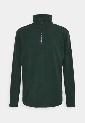 TENNO MEN - Fleece jumper - foresta green