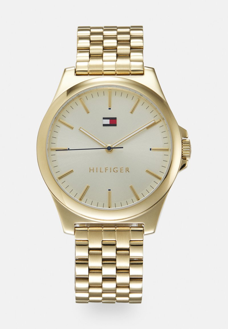 Tommy Hilfiger - BARCLAY UNISEX - Watch - gold-coloured
