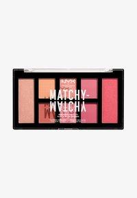 Nyx Professional Makeup - MATCHY-MATCHY MONOCHROMATIC PALETTE - Eyeshadow palette - melon - 0