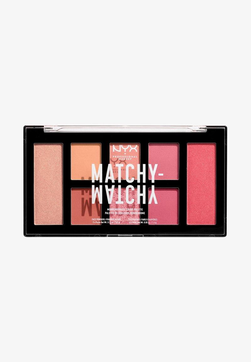 Nyx Professional Makeup - MATCHY-MATCHY MONOCHROMATIC PALETTE - Eyeshadow palette - melon