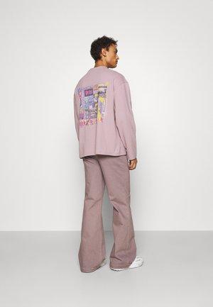 LE PIXEL UNISEX - Long sleeved top - lavender