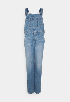 DUNGAREE - Dungarees - mid blue
