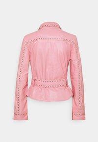 Ibana - JANICE  - Leather jacket - marshmallow - 1