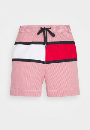 BEACH CLUB MEDIUM DRAWSTRING - Swimming shorts - red