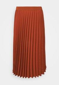 More & More - SKIRT MIDI - A-line skirt - terracotta - 0