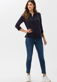 BRAX - STYLE VAL - Button-down blouse - navy - 1