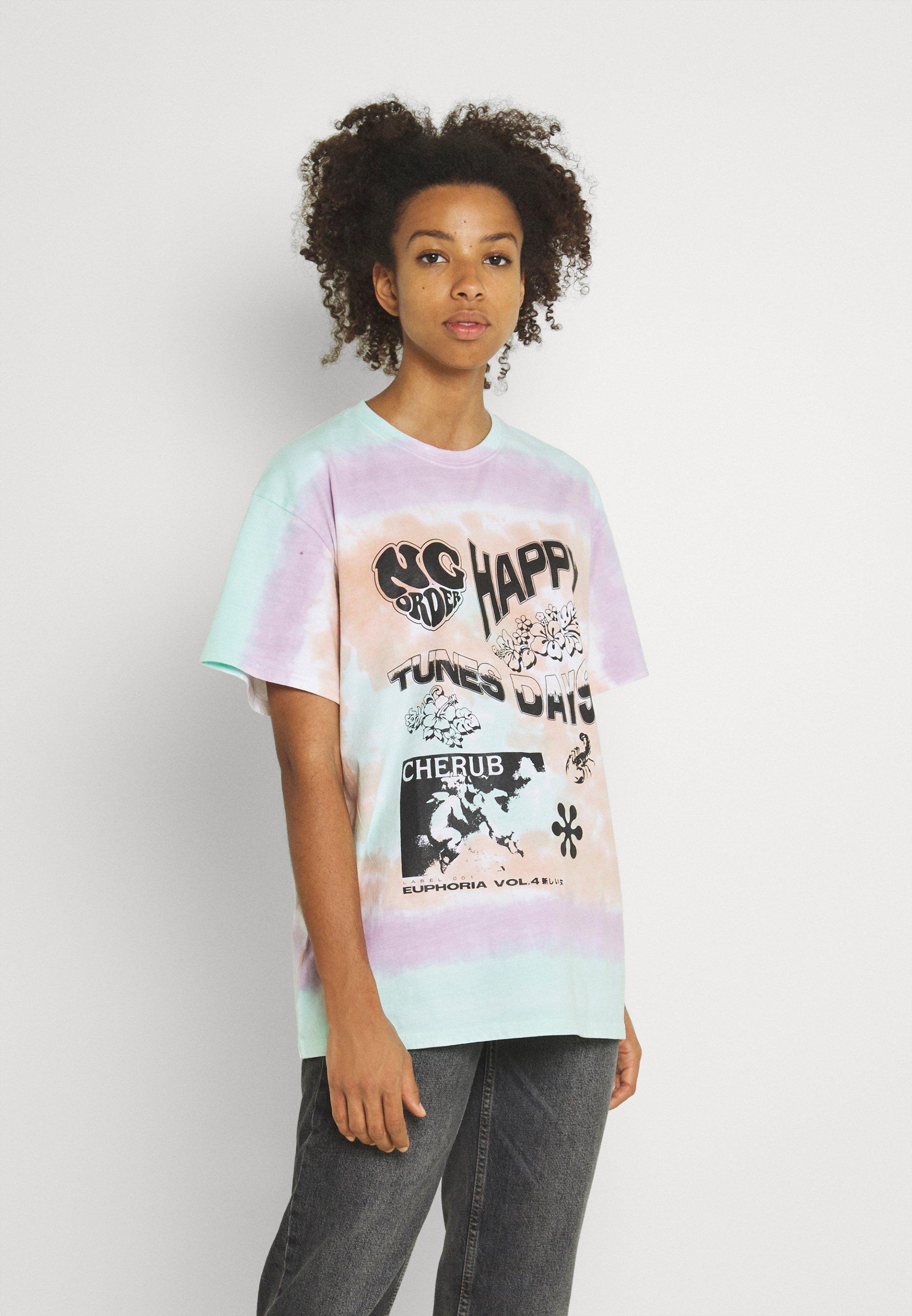 Women HAPPY DAYS TIE DYE TEE - Print T-shirt