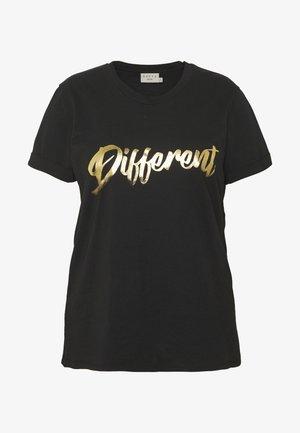 TIVA - Print T-shirt - black
