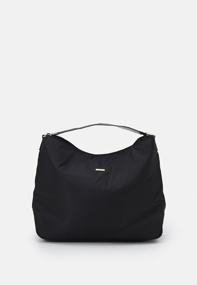RE-LOGO BAND HOBO BIG - Shopping bag - black