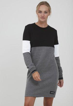 SWEAT OMILA - Jersey dress - black