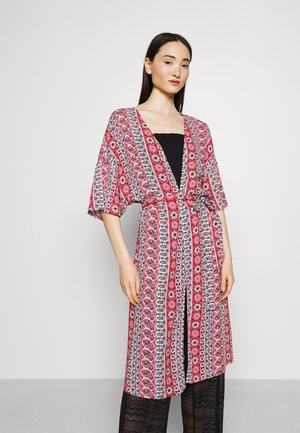 VIMACY FESTIVAL KIMONO - Summer jacket - racing red/red graphic