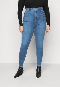 New Look Curves - Jeans Skinny Fit - mid blue - 0